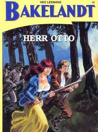 Cover Thumbnail for Bakelandt (Standaard Uitgeverij, 1993 series) #81 - Herr Otto
