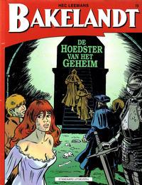 Cover Thumbnail for Bakelandt (Standaard Uitgeverij, 1993 series) #73 - De hoedster van het geheim
