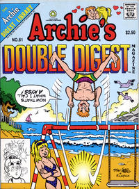 Cover Thumbnail for Archie's Double Digest Magazine (Archie, 1984 series) #61 [Direct Edition]