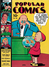 Cover Thumbnail for Popular Comics (Dell, 1936 series) #38
