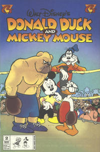 Cover Thumbnail for Donald Duck and Mickey Mouse (Gladstone, 1995 series) #2