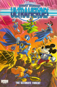 Cover Thumbnail for Disney's Hero Squad: Ultraheroes (Boom! Studios, 2010 series) #3 - The Ultimate Threat