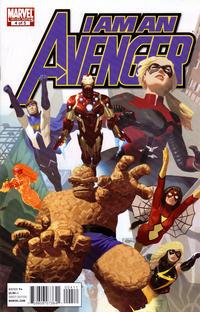 Cover Thumbnail for I Am an Avenger (Marvel, 2010 series) #4