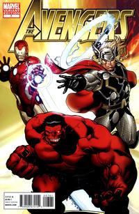 Cover Thumbnail for Avengers (Marvel, 2010 series) #7 [McGuinness Variant]