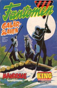 Cover Thumbnail for Fantomen (Semic, 1963 series) #5/1977