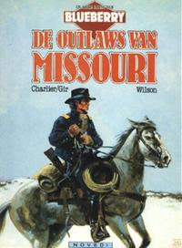 Cover Thumbnail for De jonge jaren van Blueberry (Novedi, 1985 series) #4 - De outlaws van Missouri