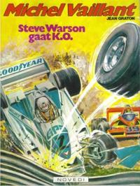 Cover Thumbnail for Michel Vaillant (Novedi, 1981 series) #34 - Steve Warson gaat K.O.