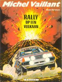 Cover Thumbnail for Michel Vaillant (Novedi, 1981 series) #39 - Rally op een vulkaan