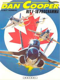 Cover Thumbnail for Dan Cooper (Novedi, 1981 series) #27 - Het F-18 programma