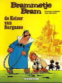 Cover Thumbnail for Brammetje Bram (Novedi, 1981 series) #5 - De keizer van Sargasso