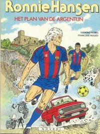 Cover Thumbnail for Ronnie Hansen (Novedi, 1981 series) #11 - Het plan van de Argentijn