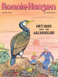 Cover Thumbnail for Ronnie Hansen (Novedi, 1981 series) #12 - Het huis met de aalscholver