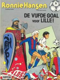 Cover Thumbnail for Ronnie Hansen (Novedi, 1981 series) #14 - De vijfde goal voor Lille!