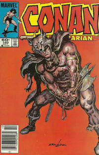 Cover Thumbnail for Conan the Barbarian (Marvel, 1970 series) #163 [Newsstand]
