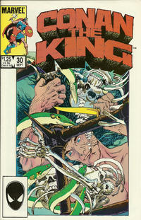 Cover Thumbnail for Conan the King (Marvel, 1984 series) #30 [Direct Edition]