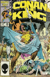 Cover Thumbnail for Conan the King (Marvel, 1984 series) #38 [Direct Edition]