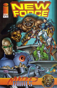 Cover Thumbnail for Newforce (Image, 1996 series) #3