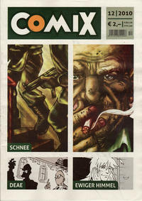 Cover Thumbnail for Comix (JNK, 2010 series) #12/2010