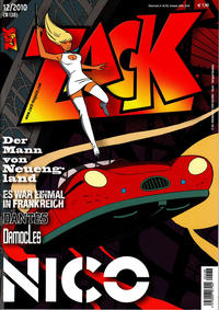 Cover Thumbnail for Zack (Mosaik Steinchen für Steinchen Verlag, 1999 series) #12/2010 (#138)