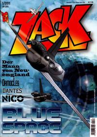 Cover Thumbnail for Zack (Mosaik Steinchen für Steinchen Verlag, 1999 series) #1/2011 (#139)