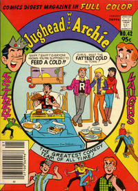 Cover Thumbnail for Jughead with Archie Digest (Archie, 1974 series) #42 [Canadian Price Variant]