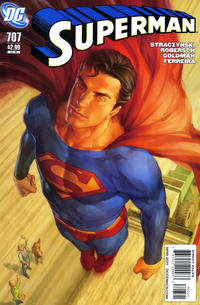 Cover for Superman (DC, 2006 series) #707 [Direct]