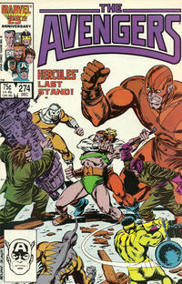 Cover Thumbnail for The Avengers (Marvel, 1963 series) #274 [Direct]