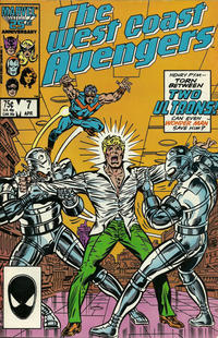 Cover Thumbnail for West Coast Avengers (Marvel, 1985 series) #7 [Direct]