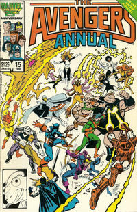 Cover Thumbnail for The Avengers Annual (Marvel, 1967 series) #15 [Direct Edition]
