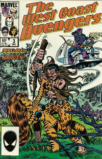 Cover Thumbnail for West Coast Avengers (Marvel, 1985 series) #3 [Direct]