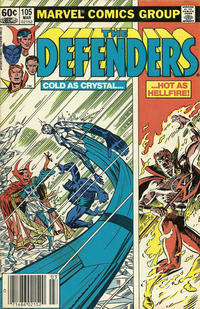 Cover Thumbnail for The Defenders (Marvel, 1972 series) #105 [Newsstand]