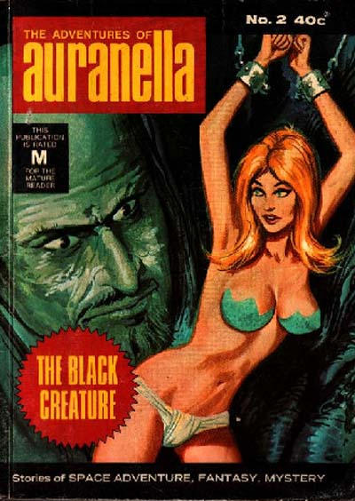 Cover for The Adventures of Auranella (K. G. Murray, 1972 ? series) #2
