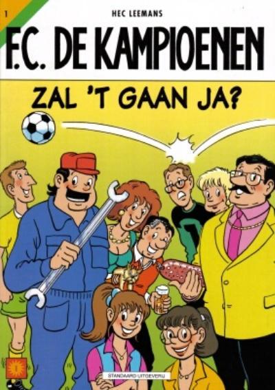 Cover for F.C. De Kampioenen (Standaard Uitgeverij, 1997 series) #1