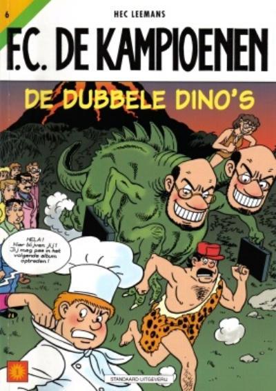 Cover for F.C. De Kampioenen (Standaard Uitgeverij, 1997 series) #6