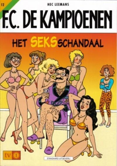 Cover for F.C. De Kampioenen (Standaard Uitgeverij, 1997 series) #12
