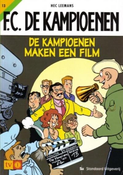 Cover for F.C. De Kampioenen (Standaard Uitgeverij, 1997 series) #13