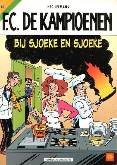 Cover for F.C. De Kampioenen (Standaard Uitgeverij, 1997 series) #16