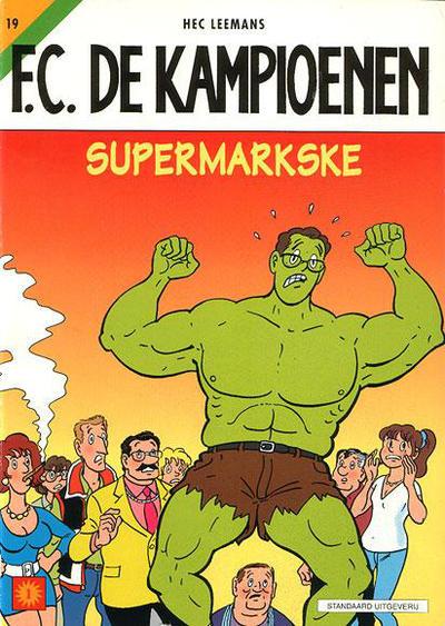 Cover for F.C. De Kampioenen (Standaard Uitgeverij, 1997 series) #19