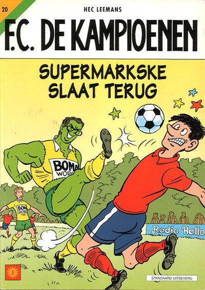 Cover for F.C. De Kampioenen (Standaard Uitgeverij, 1997 series) #20