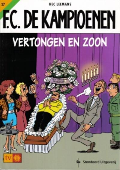 Cover for F.C. De Kampioenen (Standaard Uitgeverij, 1997 series) #27