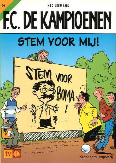 Cover for F.C. De Kampioenen (Standaard Uitgeverij, 1997 series) #29
