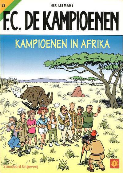 Cover for F.C. De Kampioenen (Standaard Uitgeverij, 1997 series) #33 - Kampioenen in Afrika