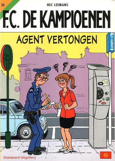 Cover for F.C. De Kampioenen (Standaard Uitgeverij, 1997 series) #35