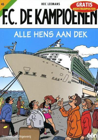 Cover for F.C. De Kampioenen (Standaard Uitgeverij, 1997 series) #45