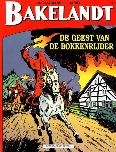 Cover for Bakelandt (Standaard Uitgeverij, 1993 series) #13