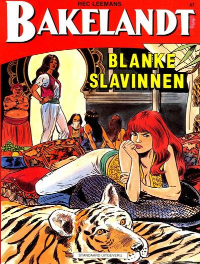 Cover for Bakelandt (Standaard Uitgeverij, 1993 series) #47