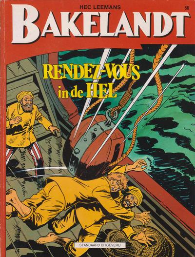 Cover for Bakelandt (Standaard Uitgeverij, 1993 series) #56
