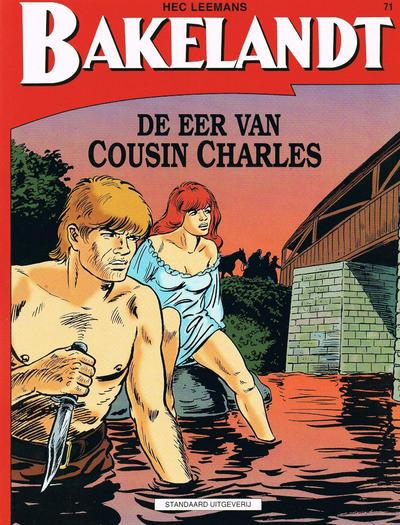 Cover for Bakelandt (Standaard Uitgeverij, 1993 series) #71 - De eer van Cousin Charles