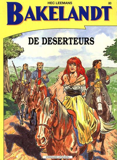Cover for Bakelandt (Standaard Uitgeverij, 1993 series) #80 - De deserteurs