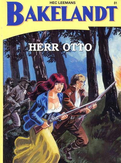 Cover for Bakelandt (Standaard Uitgeverij, 1993 series) #81 - Herr Otto